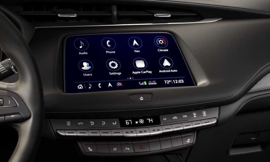 2019 XT4 Crossover Bluetooth Technology.