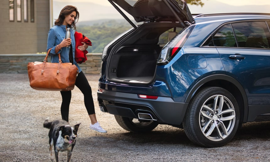 2019 XT4 Crossover Liftgate.