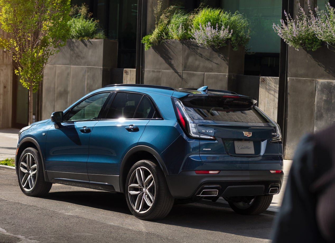 2019 Cadillac XT4 Crossover Rear Exterior View.