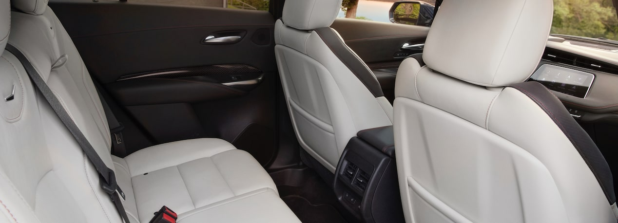 Cadillac XT4 Crossover Rear Seats.