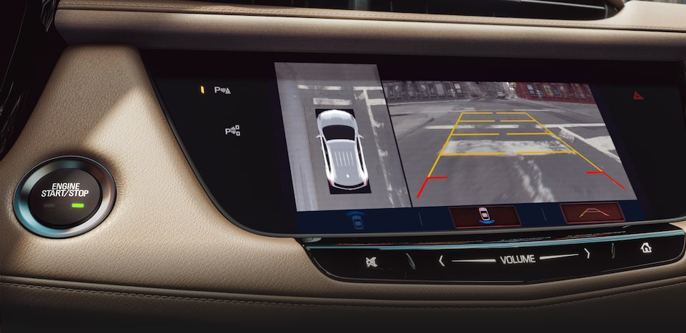 Cadillac XT5's available Surround Vision feature.