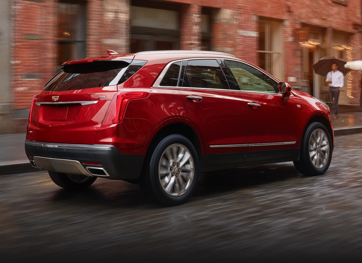 Cadillac XT5 Crossover all-wheel drive.