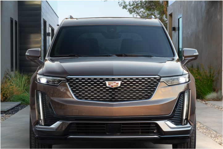 Engine Block In The 2020 Cadillac XT6 7 Passenger Luxury SUV.