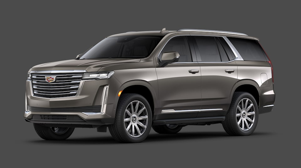 2021 Cadillac Escalade Premium Luxury Platinum Trim.