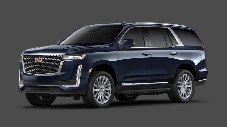 2021 Cadillac Escalade Premium Luxury Trim.
