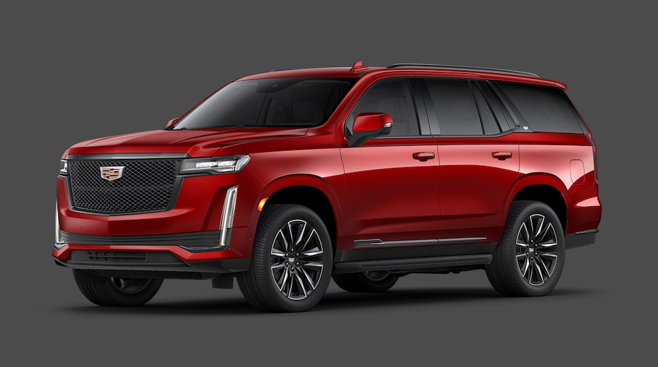 2021 Cadillac Escalade Sports Platinum Trim.