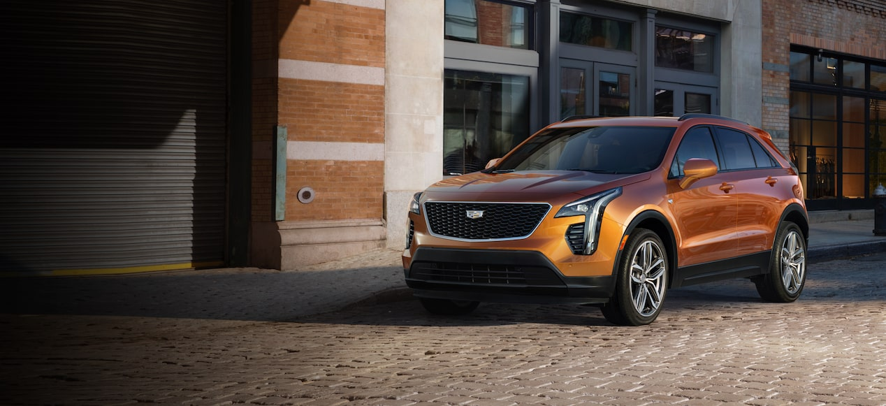 The 2019 Cadillac XT4 luxury crossover.