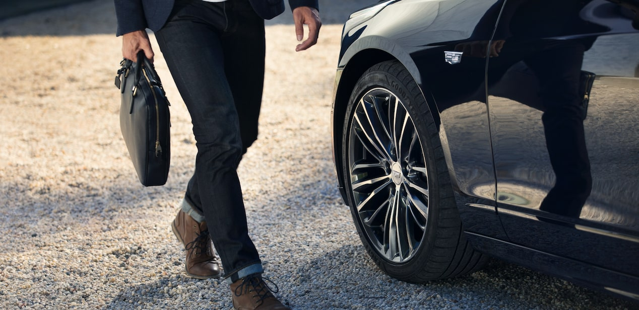 2019 Cadillac CT6 full-size luxury sedan Wheels.