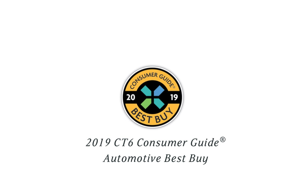 2019 CT6 Consumer Guide Automotive Best Buy Icon.