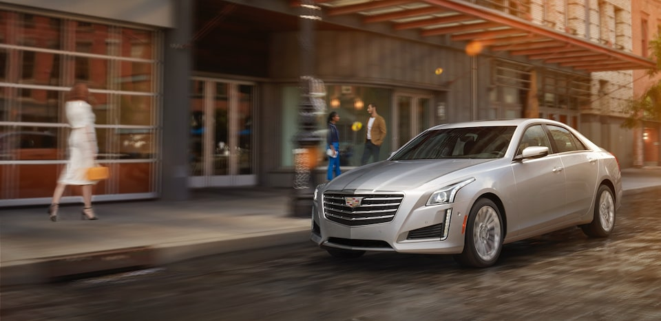 Cadillac CTS performance features.