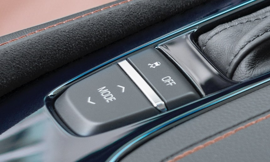 CTS mid-size luxury sedan performance: available performance drive modes.