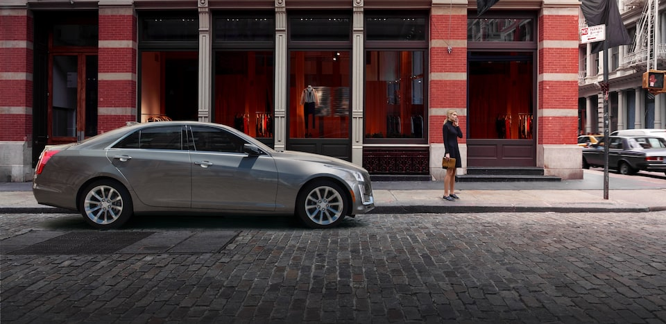 CTS mid-size luxury sedan performance: available Magnetic Ride Control.