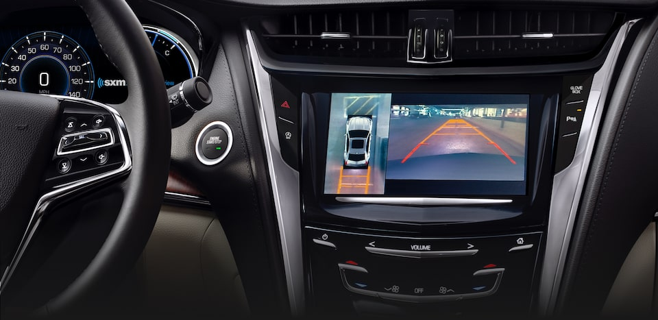 Cadillac CTS safety: available Surround Vision.