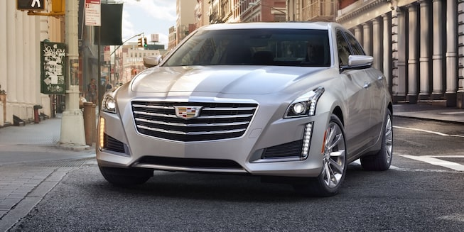 2019 CTS Sedan exterior: front profile.