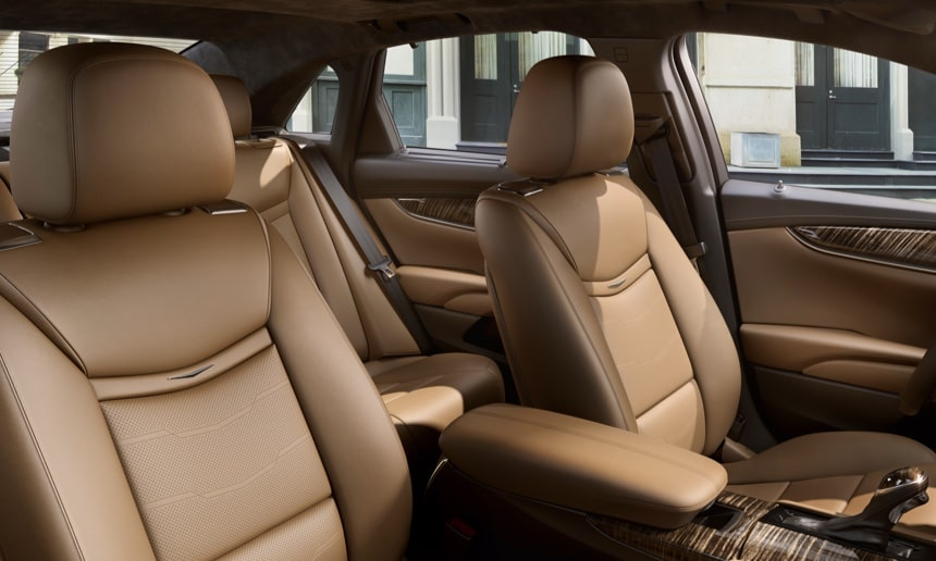 2019 Cadillac XTS interior: available rear seat heating.