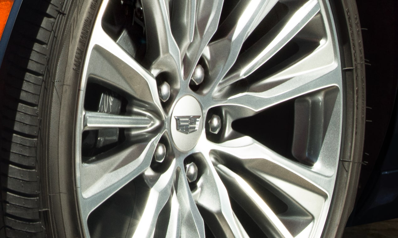 The 2019 Cadillac XTS comes with Brembo performance front brakes.