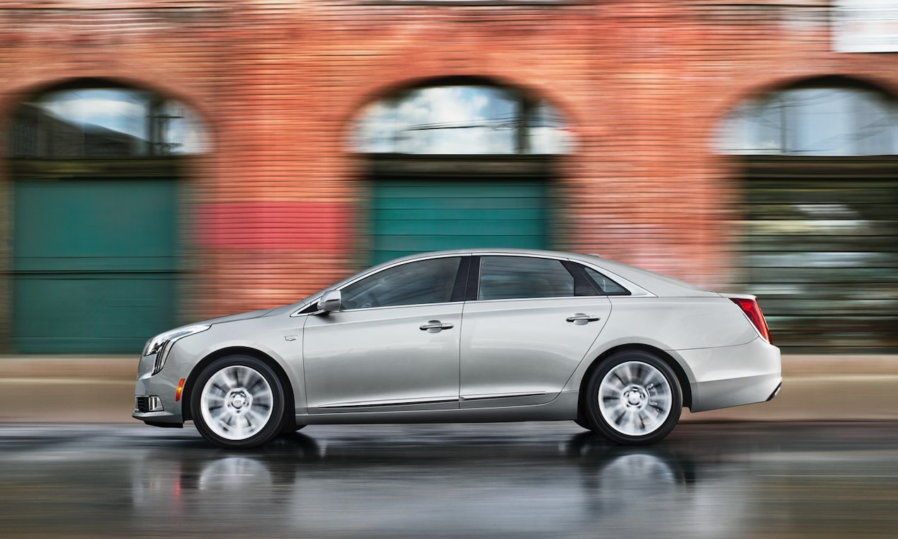 2019 Cadillac XTS safety: available with Rainsense Wipers.