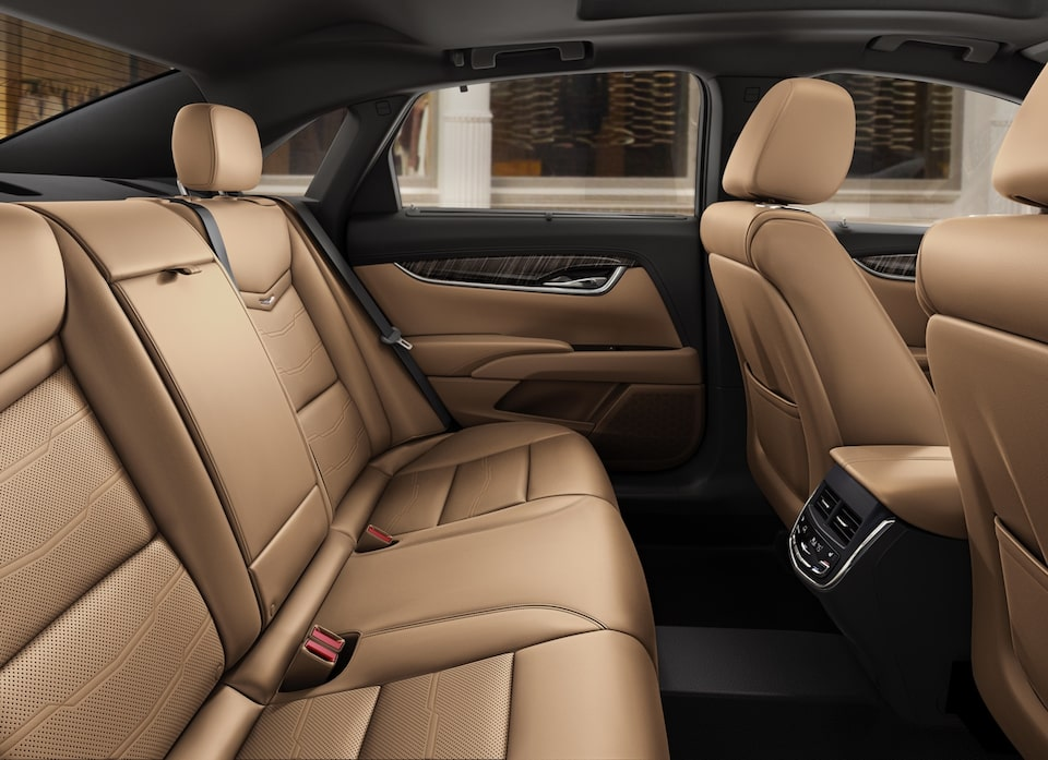 2019 Cadillac XTS interior: with available rear seat heating.