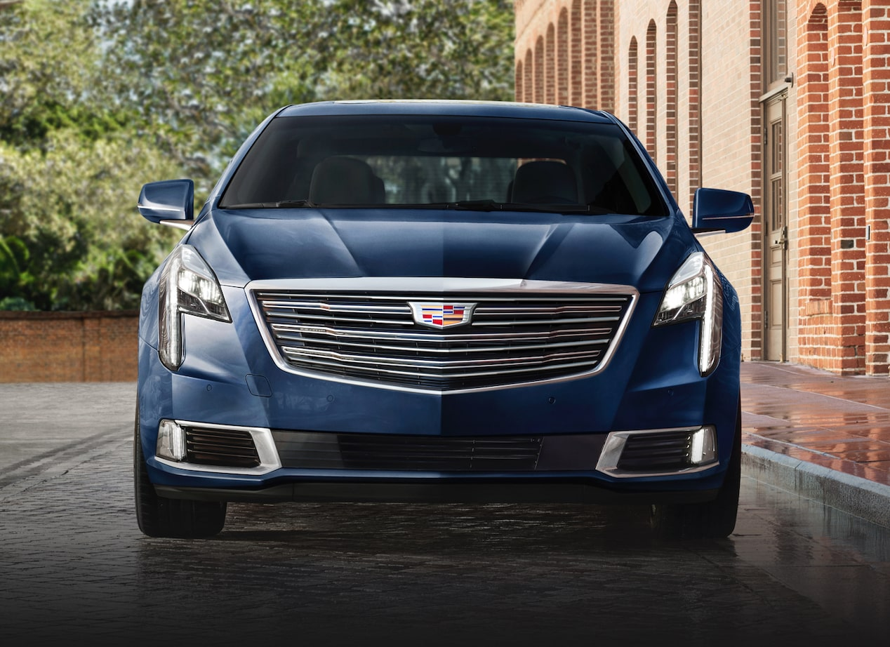 XTS full-size luxury sedan exterior: front profile.