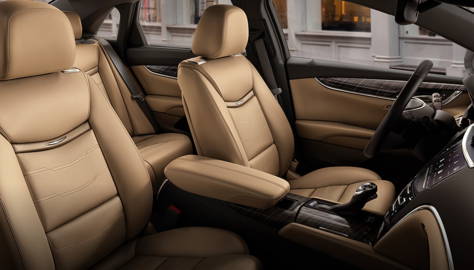 Interior profile of the 2019 XTS full-size luxury sedan.
