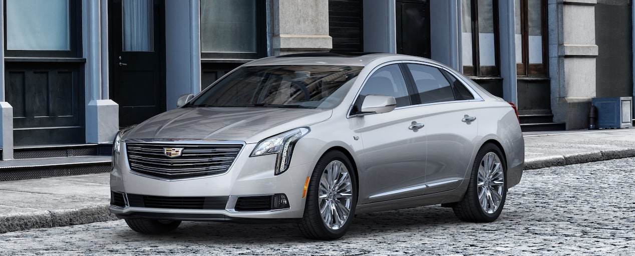 Exterior of the 2019 Cadillac XTS in {Colourizer}.