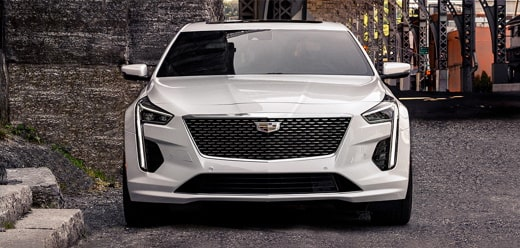 2020 Cadillac CT6 Sedan Front Grille Exterior.
