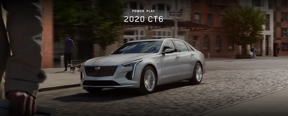 Power. Play. 2020 Cadillac CT6 Full-Size Luxury Sedan.