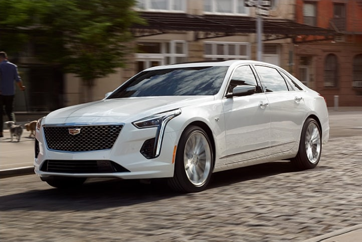 2020 Cadillac CT6 Sedan: Chassis System Front Side Exterior.