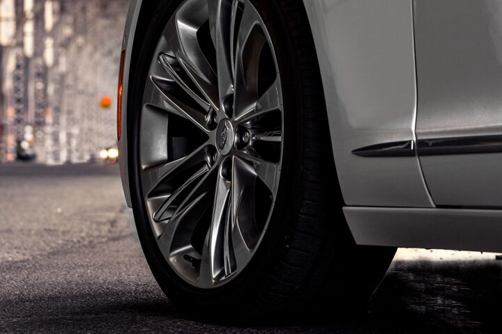 2020 Cadillac CT6 Sedan: Automatic Braking Wheels Close Up.