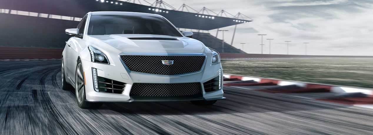 The track capable 2019 Cadillac CTS-V mid-size sport sedan.