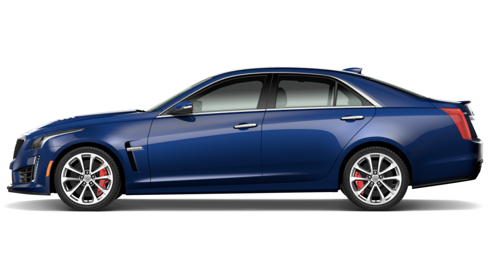 Trims for the 2019 Cadillac CTS-V mid-size sport sedan.