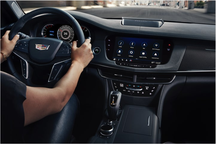 CT6-V Transmission Performance Feature.