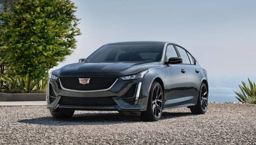 2021  Cadillac CT4 and CT4-V.