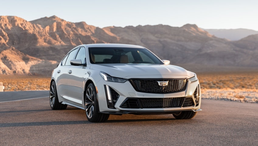 2022 Cadillac CT5-V Blackwing.
