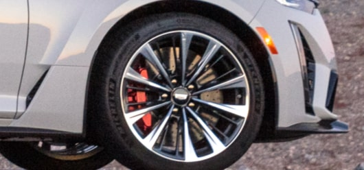 2022 Cadillac CT5-V Blackwing featuring the wheel.