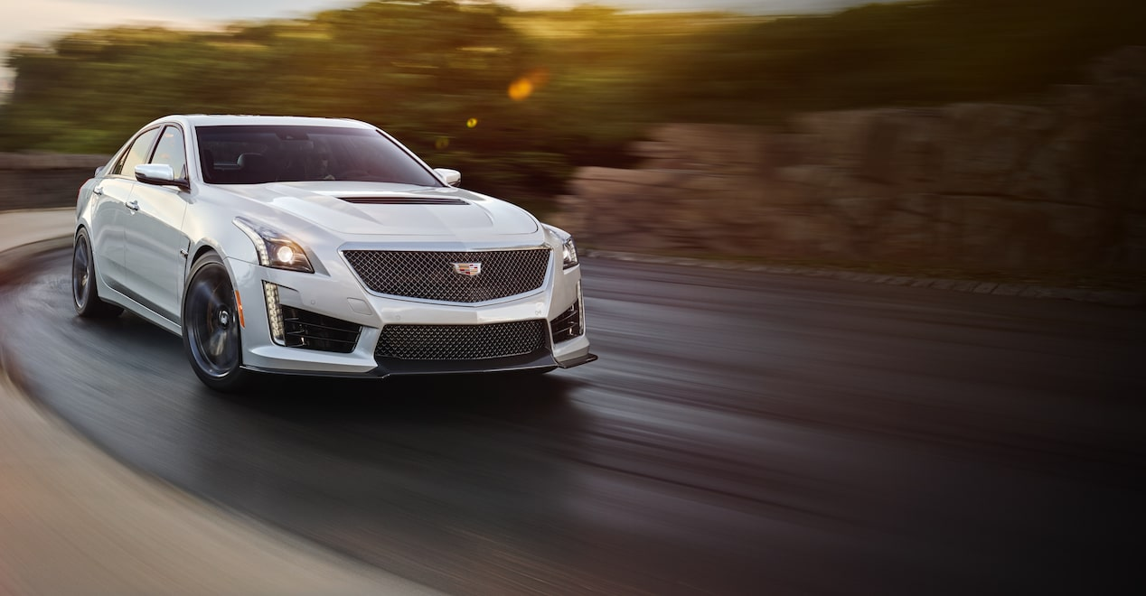 The ATS-V with available 464 horsepower and 445 lb.-ft. of torque.