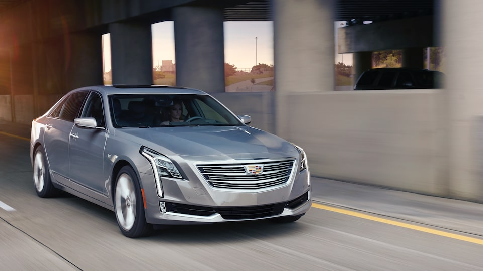 Cadillac Super Cruise allows for hands-free driving on the highway.