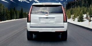 2020 Cadillac Escalade Full-Size SUV Rear Exterior View.