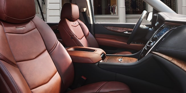 2020 Cadillac Escalade Full-Size SUV Front Passenger Seat View.