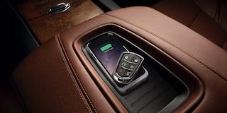 2020 Cadillac Escalade Full-Size SUV Wireless Charging Pad.