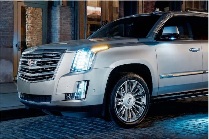 2020 Cadillac Escalade Full-Size SUV Front Headlights.