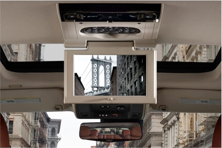 2020 Cadillac Escalade Full-Size SUV Rear Entertainment System.
