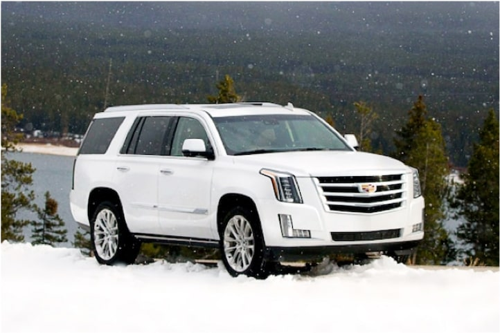 2020 Cadillac Escalade Full-Size SUV with 4-Wheel Drive.