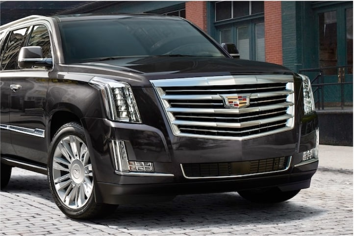 2020 Cadillac Escalade Full-Size SUV Front View: Ride Control.