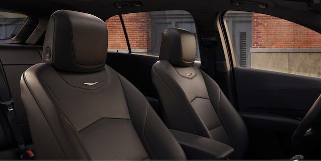 2020 Cadillac XT4 Front Passenger Seat and Driver Seat.