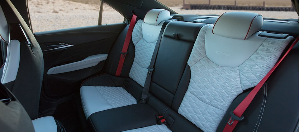 2022 Cadillac CT4-V Blackwing interior seats.