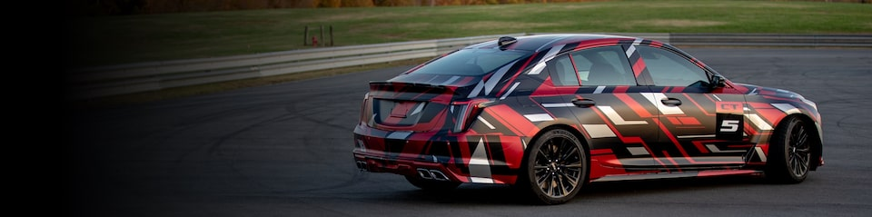 Cadillac CT5-V Blackwing.