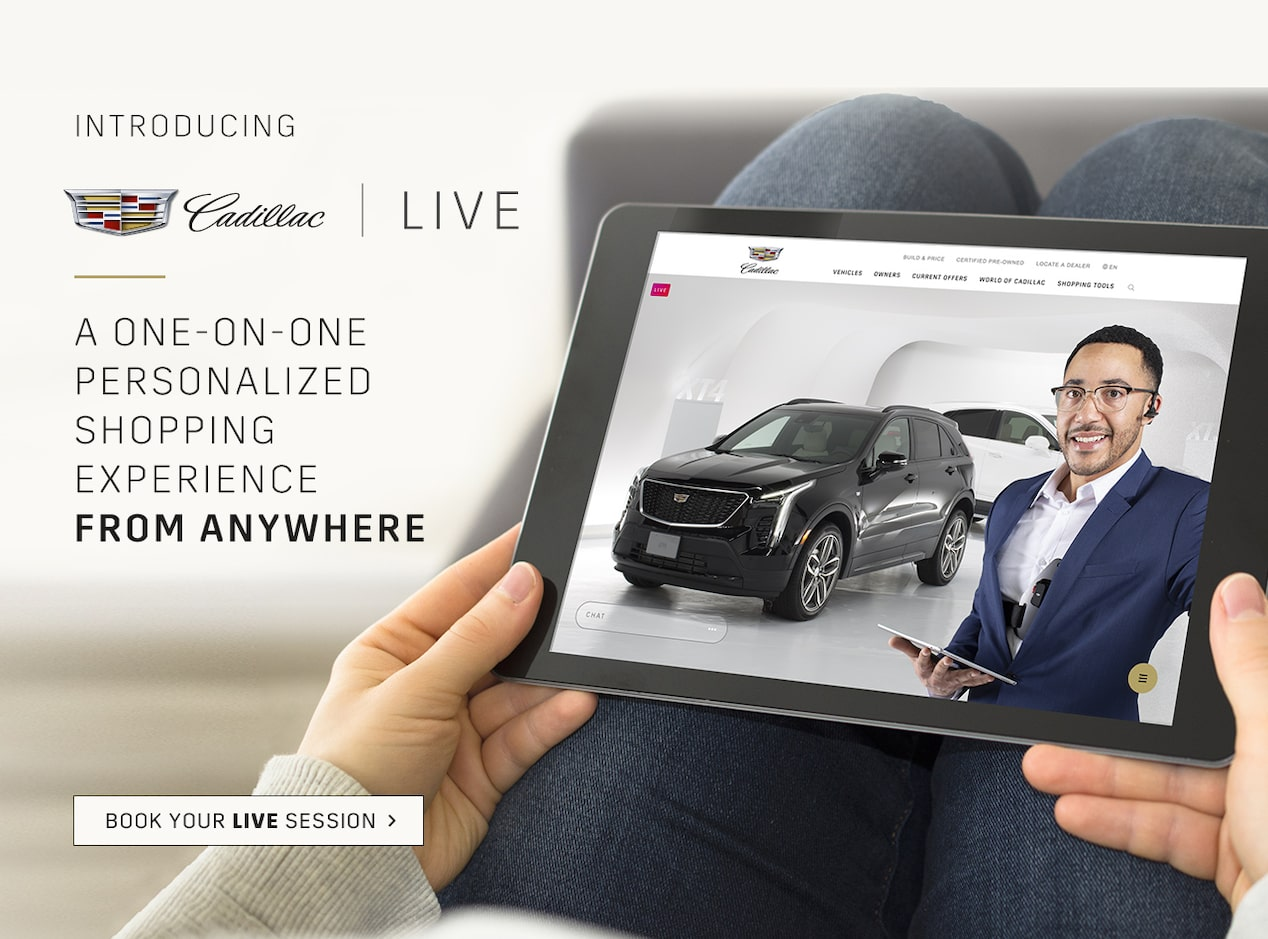 Cadillac Live: A new luxury shopping experience