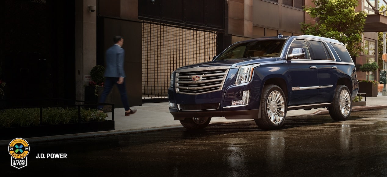The 2019 Cadillac Escalade full-size luxury SUV.