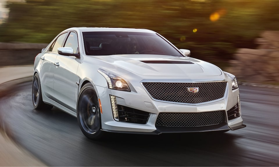 Discontinued: 2019 Cadillac CTS-V.